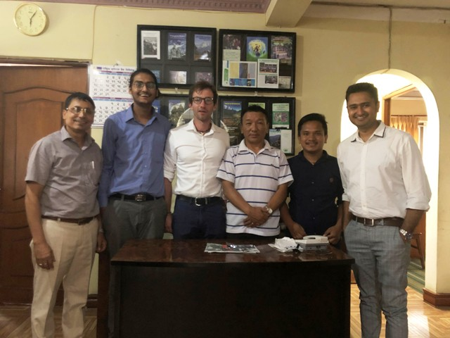 IMPACT WEEK:  Meeting with Lufthansa Delegate from Germany