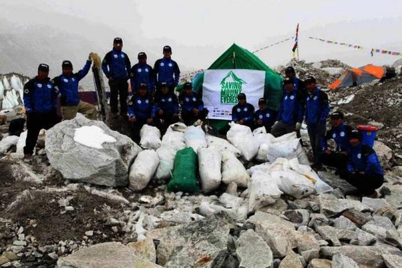 Saving Mount Everest – Solid Waste Management Project (2011- 2013)